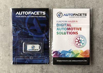 Auto Facets webcam cover