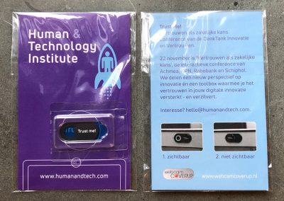 Human & Tech webcam cover